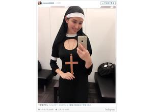 橋本マナミ、セクシーなシスターに!「懺悔したいです!」と反響 画像