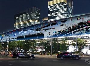 東京駅グランルーフが光に染まる…Light on Train 12月1日から 画像