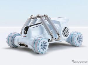 水を使わない消防車「ハボット ミニ」でモリタに独デザイン賞 画像