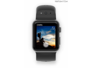 Apple Watchで写真も動画もOK! バンドにカメラとマイクを内蔵した「CMRA for Apple Watch」 画像