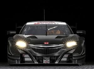 馬力アップ!ホンダGT500参戦レーサー「NSX-GT」2017を公開 画像