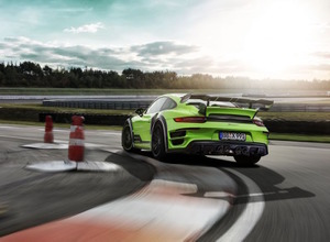 テックアート新作を初公開!640馬力の「911 GTstreet  R」 画像