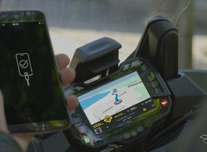 バイクにスマホの情報を表示、操作できる「mySPIN」...ボッシュが提案 画像