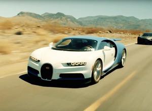 【動画】3億円のブガッティ新型、量産型が灼熱のデスバレーで世界最強を証明 画像