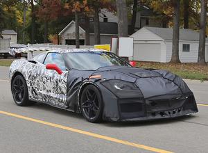 まるでレーサー!コルベット次期型ZR1、歴代最強710馬力で2017年1月発表か 画像