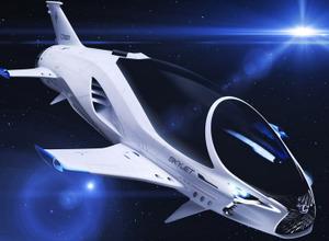 【動画】レクサス、28世紀の宇宙船「SKY JET」を初公開! 画像