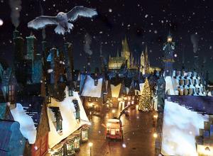 魔法使いの村がクリスマス一色!ハリー・ポッターの世界で特別なホリデーがUSJで始まる 画像