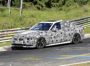 BMW3シリーズ次世代型、厳重カモフラージュでニュル高速テストに現れる! 画像