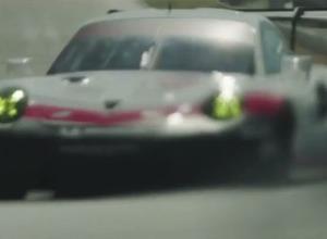 ポルシェ「911 RSR」新型、ワールドプレミア予告ショットを初公開! 画像