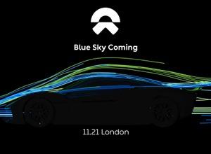 1360馬力か!中国NEXTEV、次世代最強EVスーパーカー登場を予告 画像