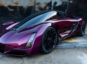 【動画】世界初3Dプリントスーパーカー「ダイバージェント ブレード」最新モデル初公開! 画像