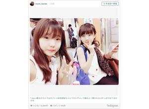 可愛すぎる!女子フィギュア・本田真凜&望結の姉妹ツーショット公開! 画像