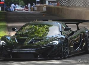 マクラーレン、公道仕様の『P1 GTR LM』がヒルクライムで市販車最速! 画像