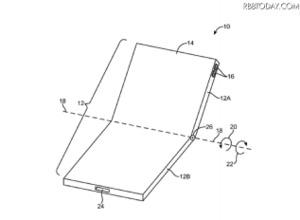 iPhone 8で採用?Appleが折りたたみスマホに関する新特許取得 画像