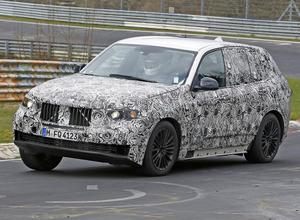 【動画】BMW X5次世代型、ニュルで熟練の走り! 画像