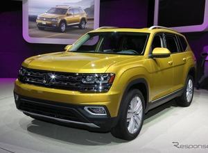 詳細画像公開、VW新型7人乗りSUV「アトラス」 画像
