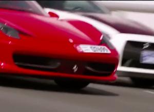 【動画】日産GT-Rポリス vs フェラーリ458 in ドバイ!緊迫のラストシーンへ 画像