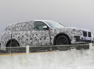 BMW史上、最も豪華で強力なSUV「X7」は2018年登場か! 画像