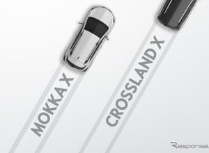 その名は「クロスランドX」!オペルが新型SUV発売へ 画像