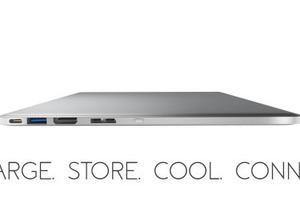 """新型MacBook Proの""""下に敷いて使う""""ポート拡張ツール「Line Dock」 画像"""