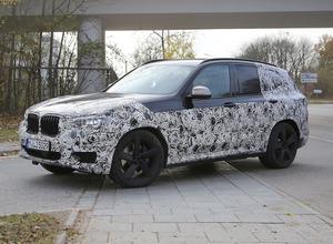 2017 BMW X3次期型、ロングボディやハイブリッドも投入へ! 画像