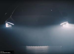 【動画】これはスゴイ!メルセデス、近未来ヘッドライト技術「デジダル ライト」発表 画像