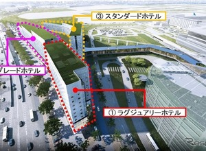 羽田空港跡地を再開発、2020年6月開業へ 画像