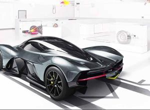 F1より速い!? アストンマーティンのハイパーカー「AM-RB001」、詳細が明らかに! 画像