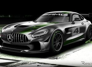 メルセデス AMG GT4、レンダリングスケッチを公開! 画像