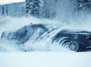 豪雪なんのその!初の4WDダッジチャレンジャー「GT」初公開! 画像