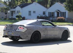 フォード マスタングGT改良新型、10速AT引っさげデトロイトショーで公開か!? 画像