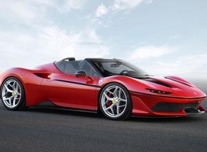 フェラーリ新型「J50」を初公開!日本展開50周年記念限定モデル 画像