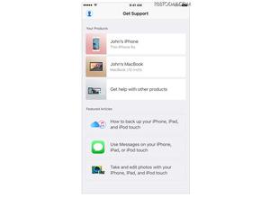 日本にも対応か...米Apple、製品修理・サポート向けアプリ「Apple Support」をリリース 画像