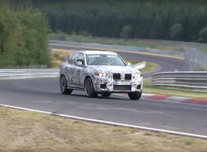 BMW X3 次期型に初の「M」、550馬力本気のニュルアタック【動画】 画像
