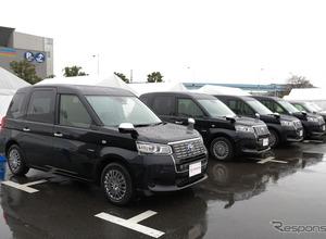 乗降ラクラク!次世代タクシー、2017年から登場へ 画像