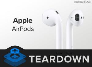 Apple「AirPods」は修理が実質不可能!充電ケースのチップは品質面に不安も 画像