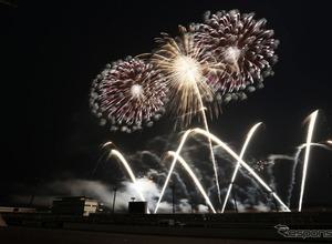 ツインリンクもてぎで新春イベント「音とキレイがいっぱい」…花火の祭典 1月2日 画像