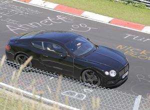【動画】ベントレー、600馬力のコンチネンタルGT/GTC次期型がニュルアタック! 画像