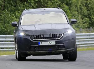 VWグループから新型SUV...ニュル参上! 画像