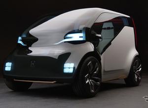 ホンダ、心で繋がる「感情エンジン」搭載、自動運転EV「NeuV」初公開 画像
