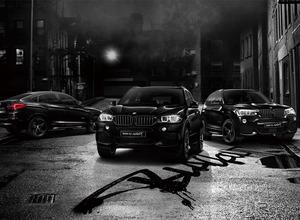 ブラックサファイアの輝き...BMW 「X3、X4、X5」に限定「BLACOUT」発売へ 画像