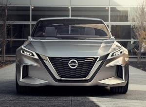 日産、次世代自動運転モデル「Vモーション2.0」を初公開! 画像