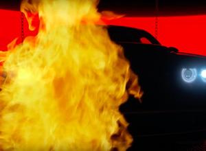 【動画】ダッジ最強「デーモン」予告ムービー第二弾...炎の奥でLEDが光った! 画像