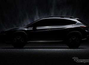 スバル新XV新型、3月ジュネーブでワールドプレミアを告知! 画像