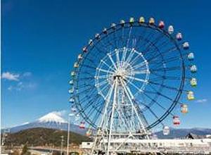 絶景!東名 EXPASA富士川に大観覧車「フジスカイビュー」誕生へ! 画像