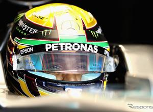 F1レーサー、ルイス・ハミルトンがヘルメットデザインを公募!2月6日まで 画像
