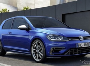 VW ゴルフ「R」に改良新型登場...310馬力へ! 画像