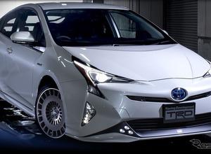 トヨタ プリウス新型、走りを追求するアイテムが発売! 画像