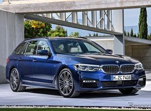 BMW 5シリーズ 、「ツーリング」新型をジュネーブで公開へ 画像