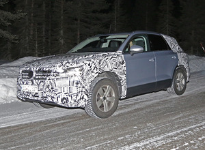 VW トゥアレグ次期型、クーペルーフなどデザイン細部が判明! 画像